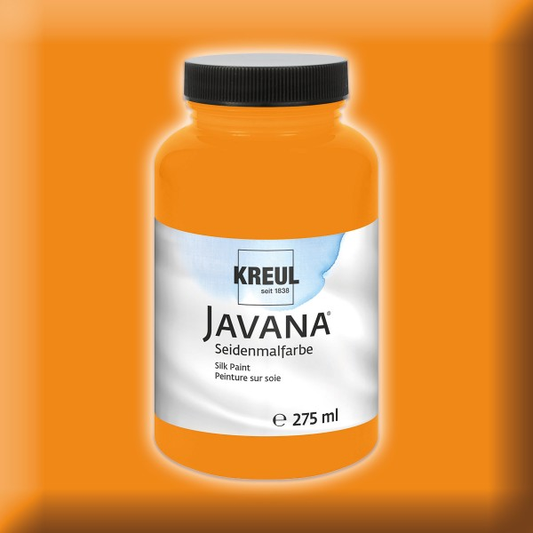 Javana Seidenmalfarbe 275ml orange