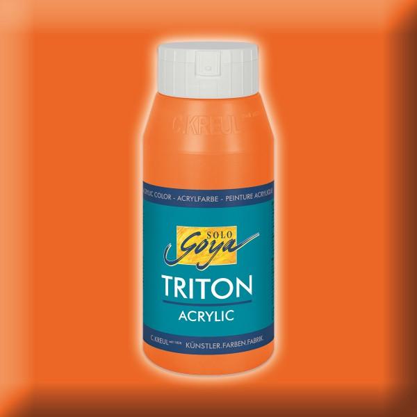 Triton Acrylfarbe 750ml aprikose