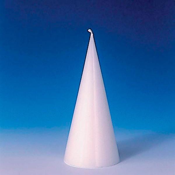Kerzengießform Ø 65x140mm Kegel bruchsicherer Kunststoff, hitzebeständig bis 120°C