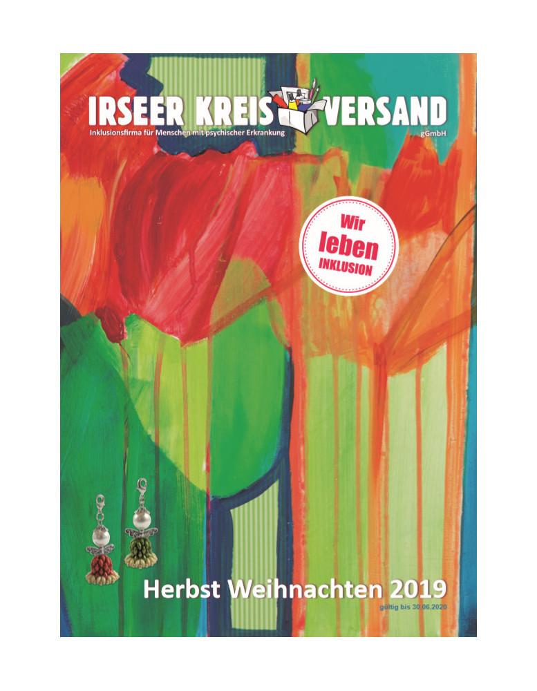 Irseer Kreis Versand Herbst-/Weihnachtsprospekt 2019 nun erhältlich!