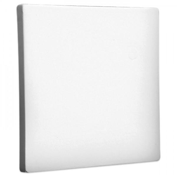 Kachel Rohkeramik 15x15cm weiß