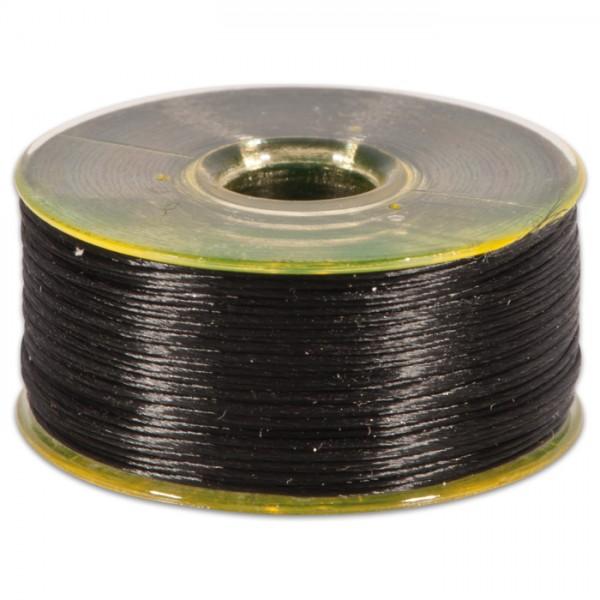 Nymogarn 0,15mm ca. 44,5m schwarz z.B. zum Perlenhäkeln, 100% Nylon