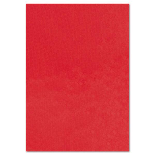 Transparentpapier 70x100cm 25 Bl. rot Drachenpapier, 42g/m²