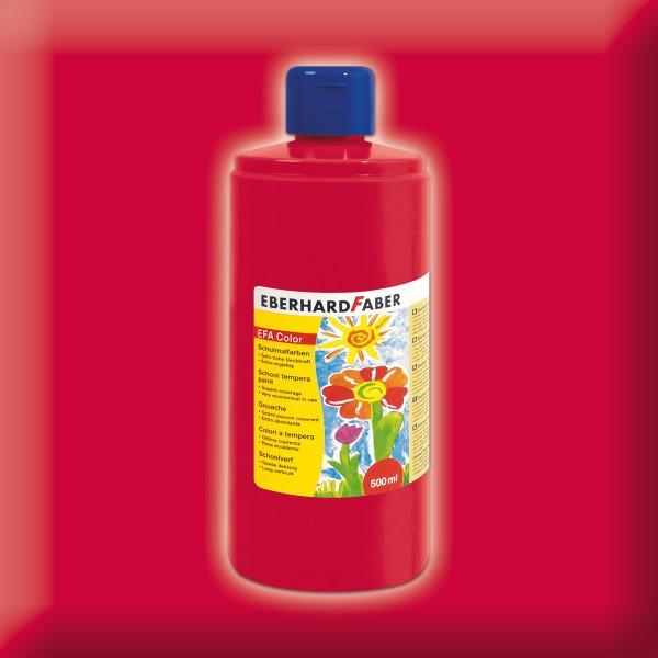 Color-Schulmalfarbe 500ml geraniumrot