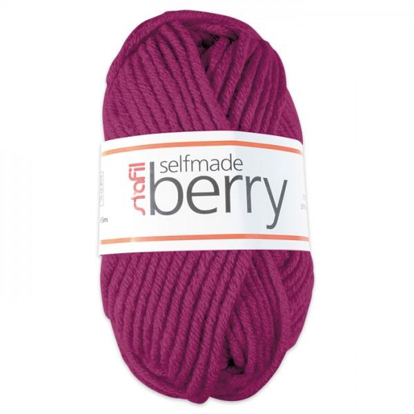 Wolle Berry 6-7mm 50g fuchsia 70% Polyacryl, 30% Wolle