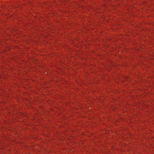 Wollfilz ca. 1-1,2mm 20x30cm rost 100% Wolle
