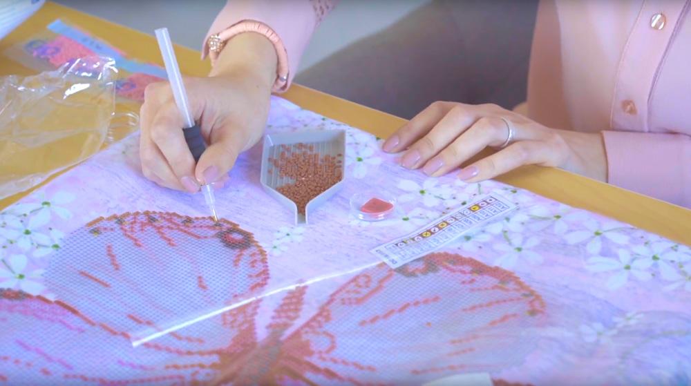 """Video """"Diamond Dotz - Wie es funktioniert - Isabelle erklärts"""""""