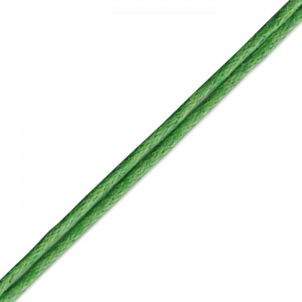 Kordel gewachst 1mm 10m grün Synthetik
