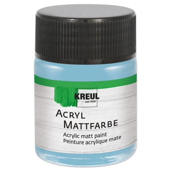 KREUL Acryl-Mattfarbe 50ml bayrischblau