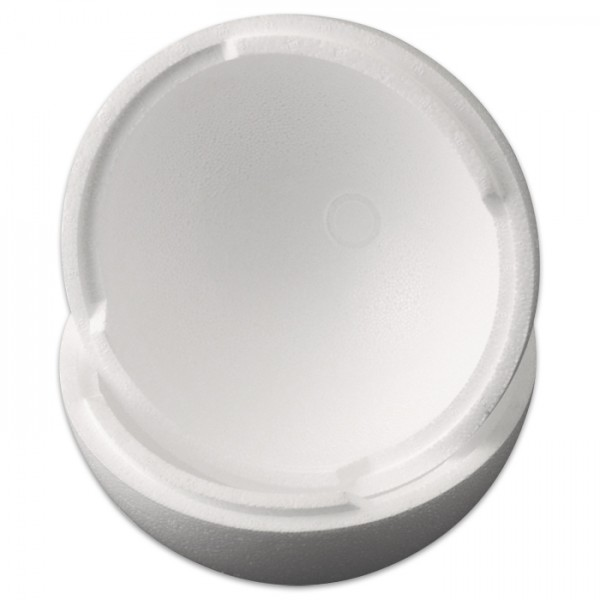 Styropor-Kugel teilbar weiß Ø 25cm