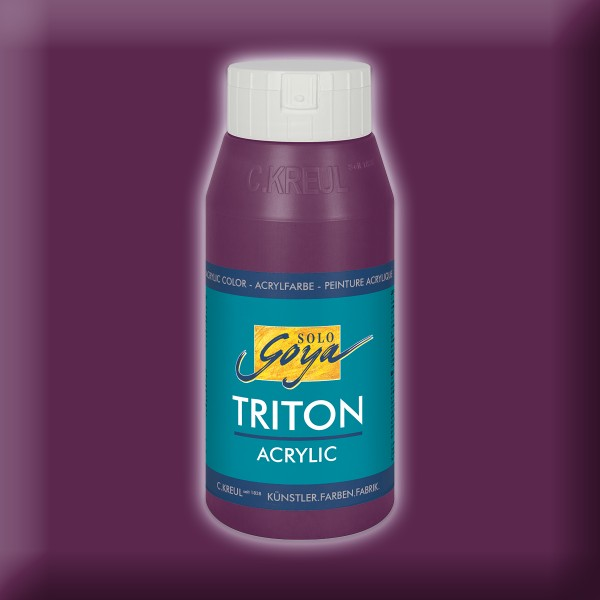Triton Acrylfarbe 750ml aubergine
