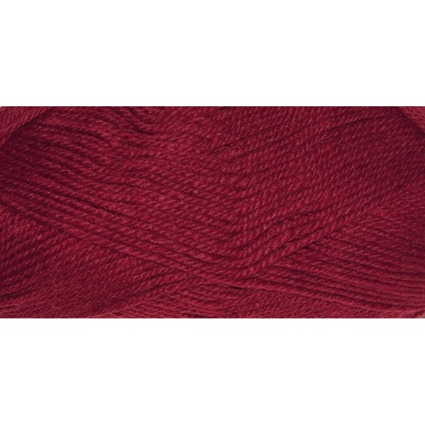 Hauswolle Rustikal ca. 100g bordeaux 60% Wolle, 40% Polyacryl