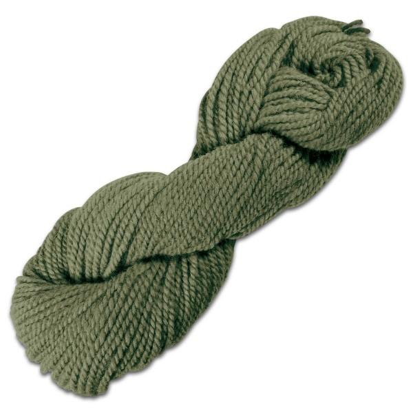 Smyrnawolle 100g moosgrün LL 30-32m, 100% Wolle