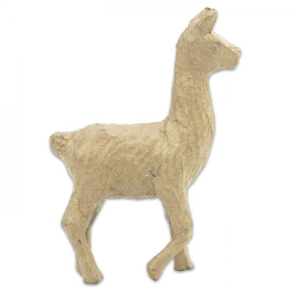 Lama Pappmaché 10,5x4x15cm Größe XS, von Décopatch