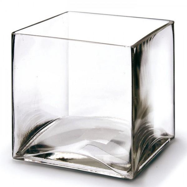 Glaswürfel offen 12x12cm