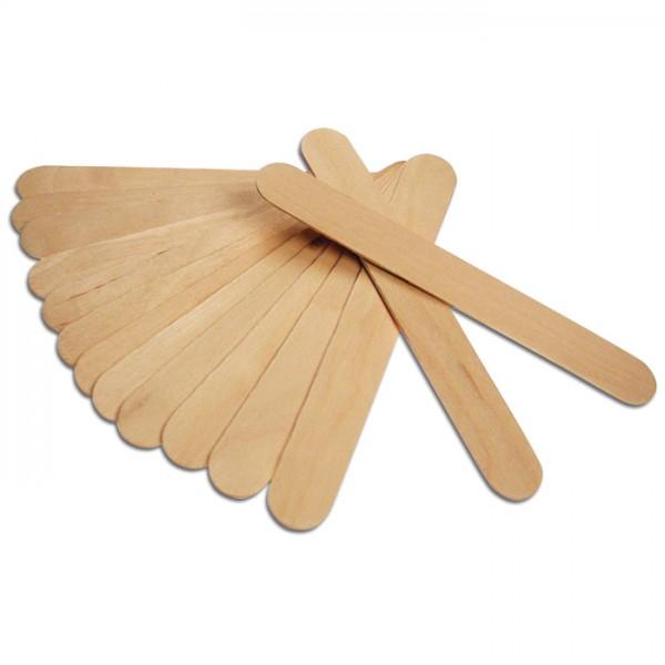 Rührhölzer/Holzspatel 2mm 15x1,9cm 24 St. natur