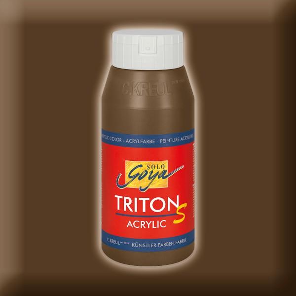 SOLO GOYA Triton Acrylic S 750ml havannabraun mit Glanzeffekt