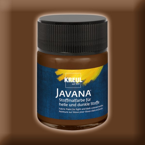 Javana Stoffmalfarbe 50ml rehbraun