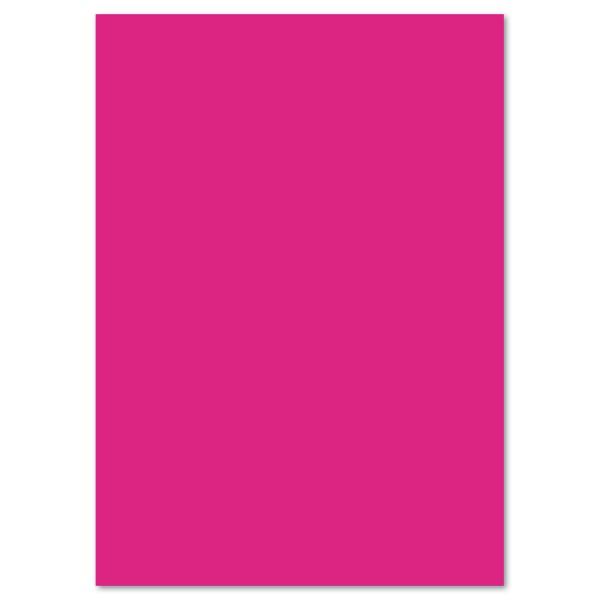Tonkarton 220g/m² 50x70cm 25 Bl. pink