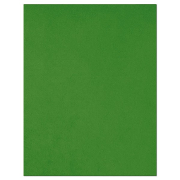 dicke Moosgummiplatte 3mm 31x40cm dunkelgrün