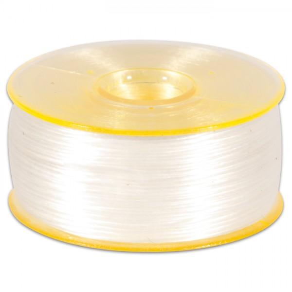 Nymogarn 0,15mm ca. 44,5m weiß z.B. zum Perlenhäkeln, 100% Nylon