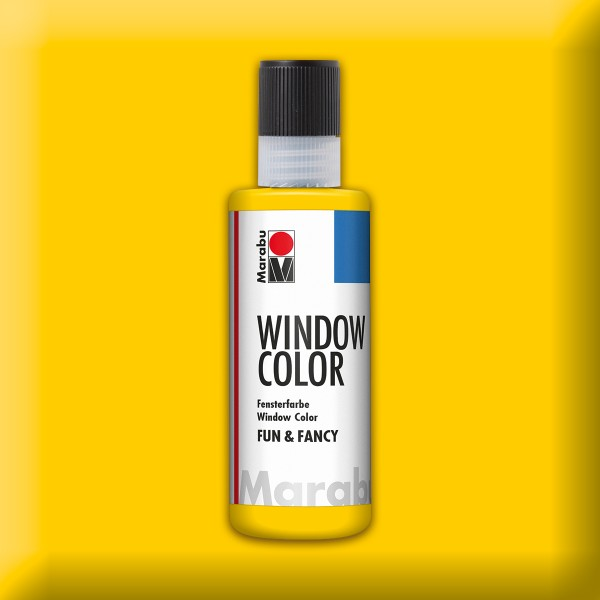 Marabu fun&fancy 80ml gelb Windowcolor