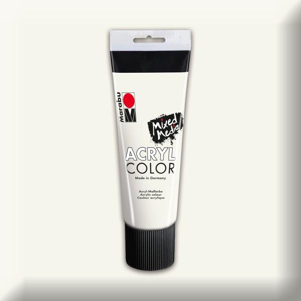 Marabu Acryl Color 225ml weiß
