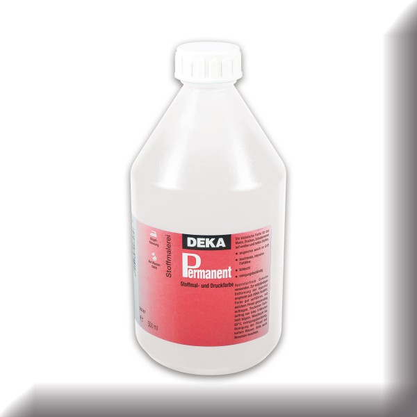 Deka-Permanent Stoffmalfarbe 500ml weiß