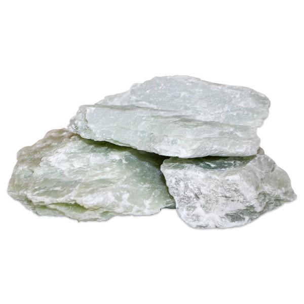 Speckstein grünlich 5kg Härte 1,5-2, ca. 4-5 Steine