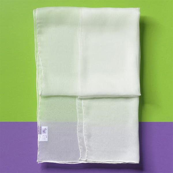 Schal Crinkle-Chiffon 4,5 160x55cm naturweiß 100% Seide