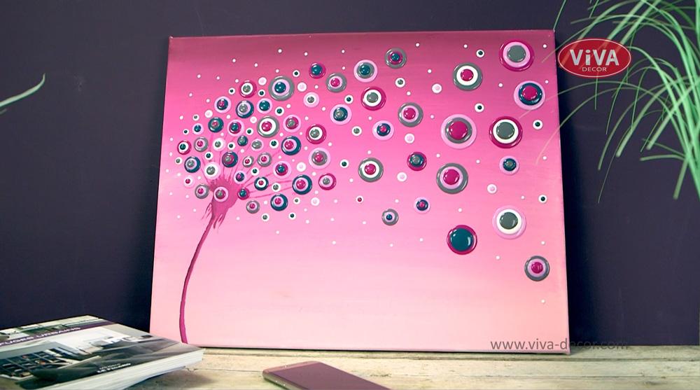 """Video """"Viva Blob Painting - Pusteblume"""""""