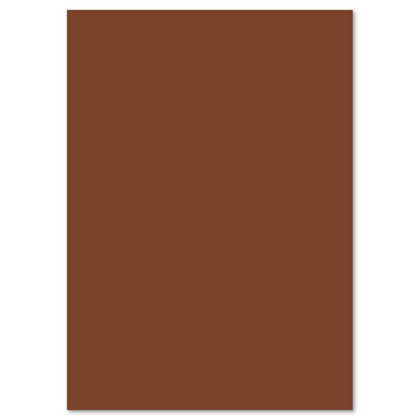 Tonkarton 220g/m² 50x70cm 25 Bl. schokobraun