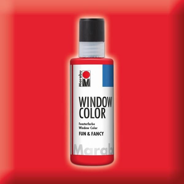 Marabu fun&fancy 80ml kirschrot Windowcolor