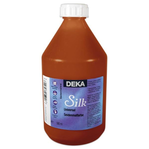 Deka-Silk Seidenmalfarbe 500ml ocker