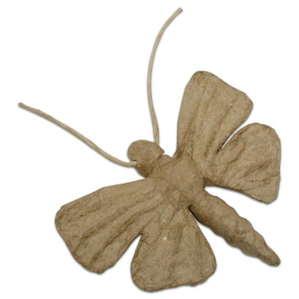 Schmetterling Pappmaché 14x9x2cm Größe XS, von Décopatch