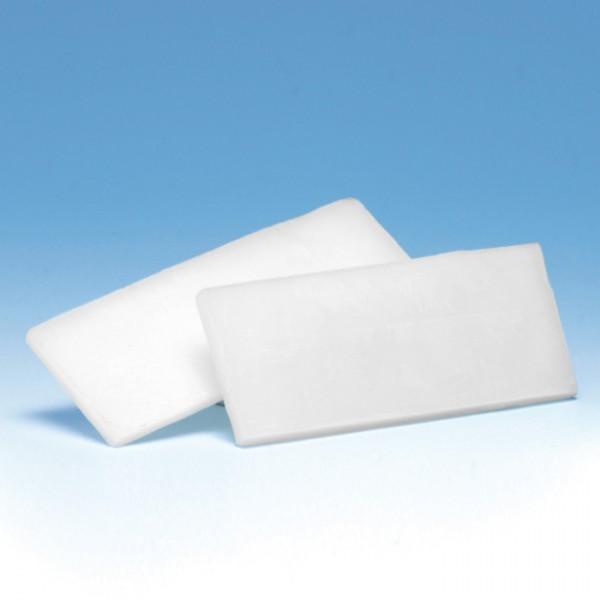 Klebewachs Platte 100x40x6mm weiß