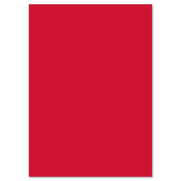 Fotokarton 300g/m² 50x70cm 10 Bl. hochrot