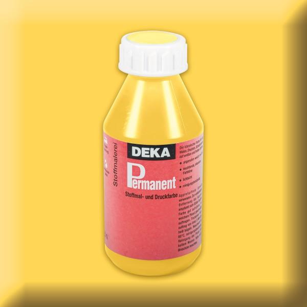 Deka-Permanent Stoffmalfarbe 125ml gelb