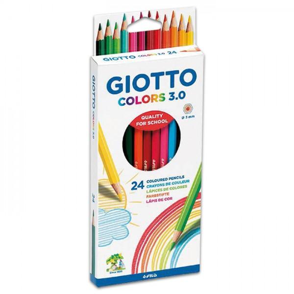 Giotto Colors 3.0 Mine 3mm 24 Farbstifte