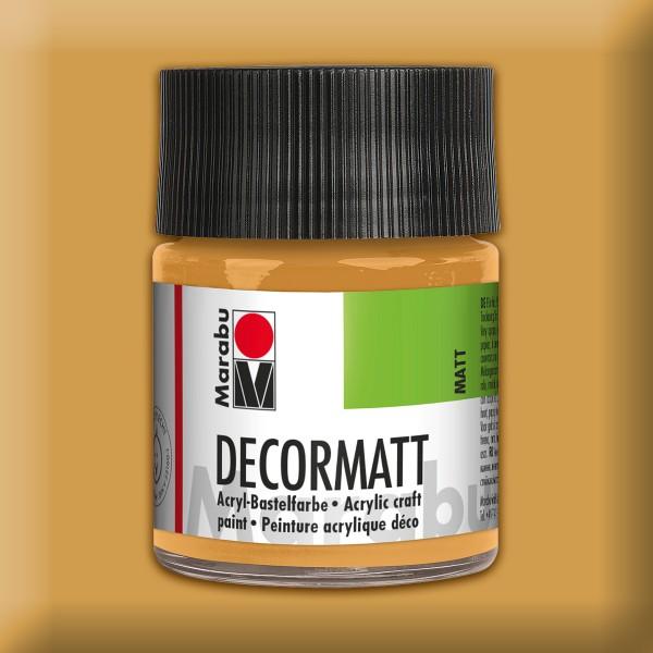 Decorlack Acryl matt 50ml metallic gold