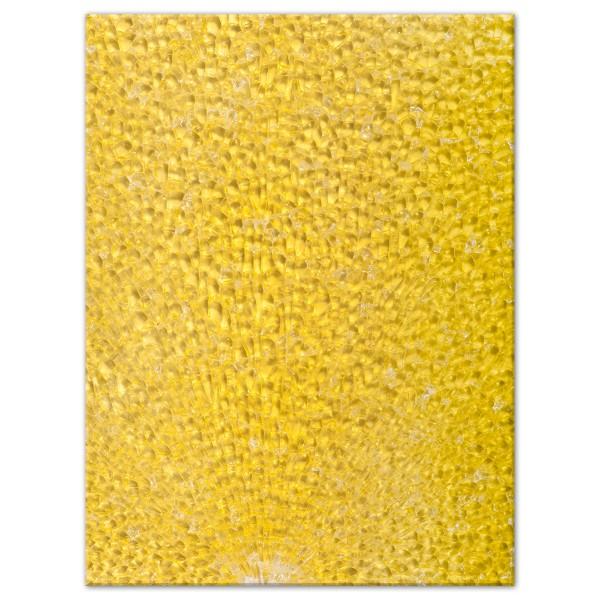 Safety-Glasplatte ca. 3,5mm 15x20cm gelb