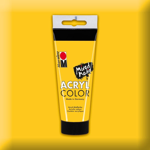Marabu Acryl Color 100ml mittelgelb