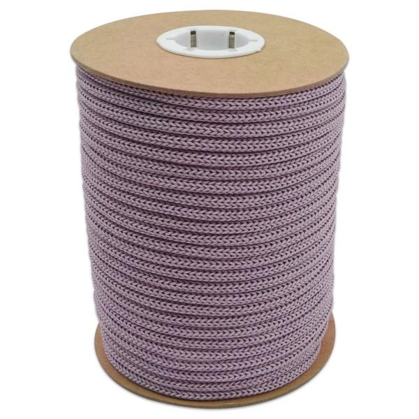 Makramee-Garn - Kordel aus Papier 4mm 30m lila aus recyceltem Material