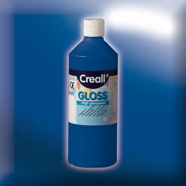 Creall gloss 500ml hochglänzend blau Polyvinylfarbe
