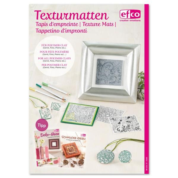 Flyer - Texturmatten gratis, 16 Seiten, DIN A5, Softcover
