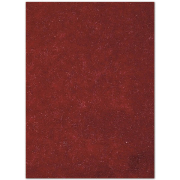 Wollfilz-Platte 4mm 30x40cm rot 70% Polyester, 30% Wolle