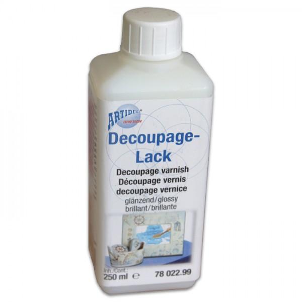 Bildtransferlack 250ml seidenmatt Decoupage-/Serviettenlack