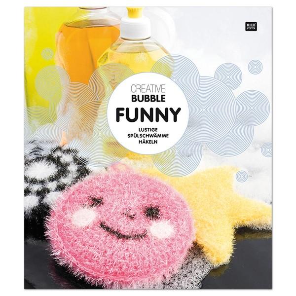 Buch - Creative Bubble Anleitung Funny 16 Seiten, 20,8x23,9cm, Softcover