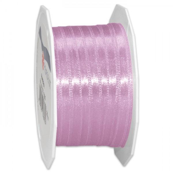 Satinband 10mm 25m lila 100% Polyester