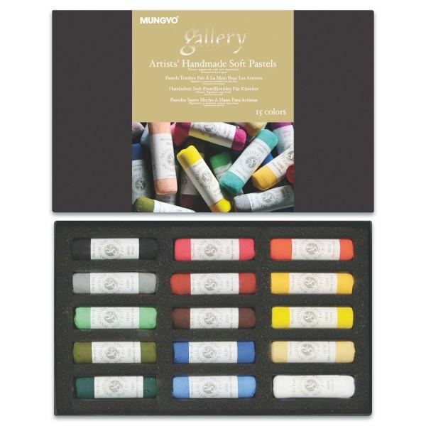 Soft-Pastellkreiden 12x55mm 15 St./Farben
